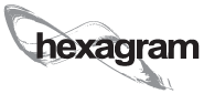Logo hexagram